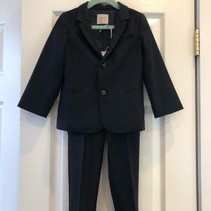 ZARA TAILORING Collection toddler navy suit